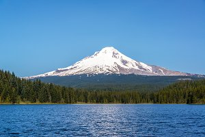 Beautiful Mt. Hood and Trillium Lake