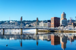 Stunning Portland Reflection