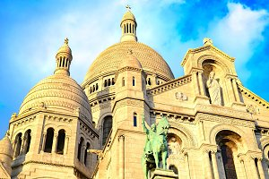 Montmarte church, Paris