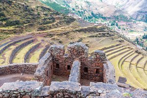 Incan Ruins and Terraces