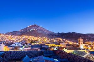 Potosi, Bolivia at Night