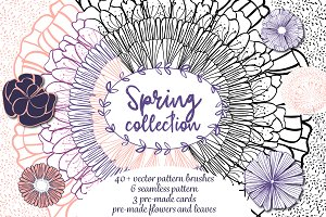 Spring collection - Pattern brushes