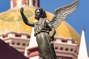 Angel and Cathedral