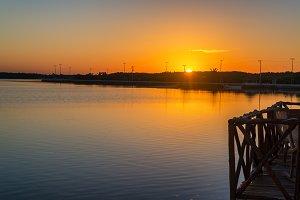 Sunrise in Rio Lagartos