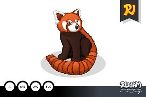 Red Panda Cartoon