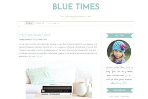 Wordpress Template - Blue Times