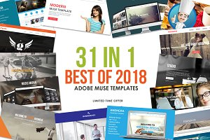 2018 Best Adobe Muse Templates
