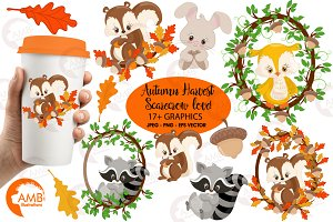 Forest Animals Clipart AMB-1178