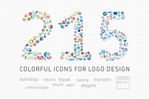 Vector Icons for Logo Design