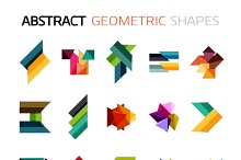 Abstract geometric shapes