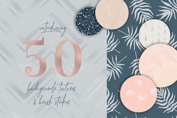 50 Elegant Backgrounds & Textures