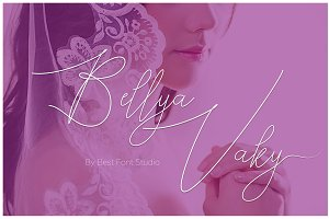 Bellya Vaky Font OFF 50 %
