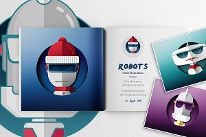 Robot Illustrations