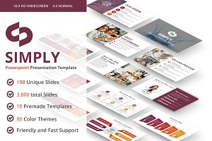 Simply PowerPoint Template