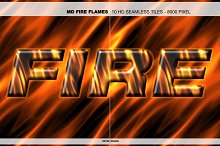 MD - Fire Flames - HD Seamless Tiles