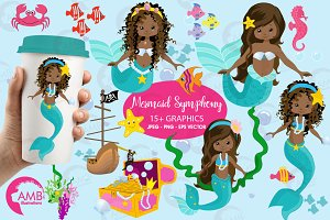 Mermaid princess AMB-1363