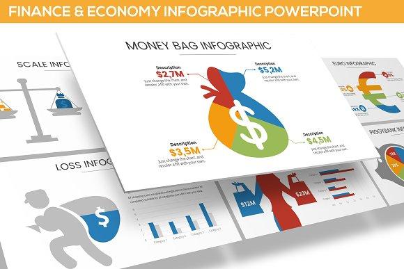 finance economy infographic ppt presentation templates
