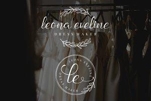 Leona Eveline Premade Logo