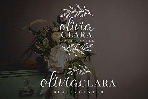 Olivia Clara Premade Logo