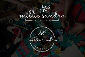 Millie Sandra Premade Logo