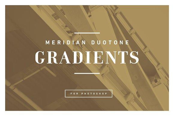 MERIDIAN Duotone Gradients