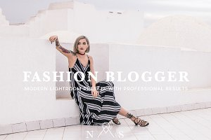 Fashion Blogger Presets