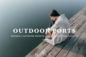 Outdoor Portrait Preset Pack