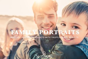 Family Portrait Preset Pack