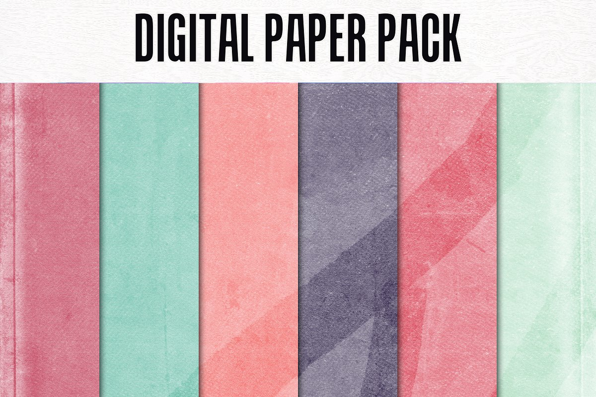 Digital Paper Pack in Textures - product preview 8