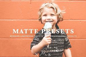 Matte Preset Pack