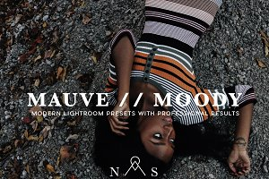 Mauve Moody Portrait Preset Pack