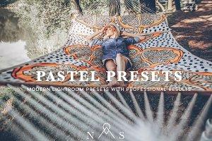 Pastel Portrait Preset Pack