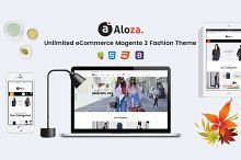 SM Aloza - Responsive Magento Theme by  in Magento