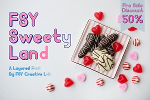 FSY Sweety Land Layer Font