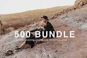 500 Lightroom Preset Bundle