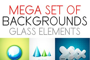 Glass design elements