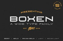 Boxen Type Family