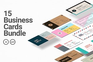 15 Business Cards Bundle