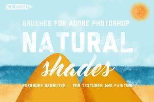 Natural Shades For Adobe Photoshop