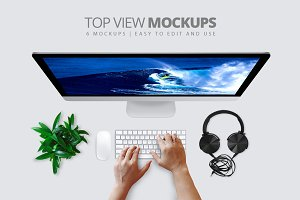 Ydlabs Top View Mockups
