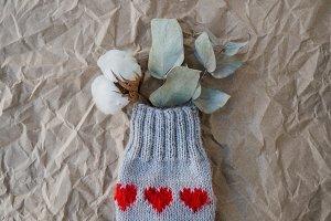 Valentine's day knitting