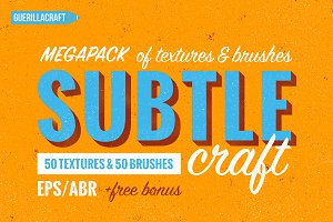 Subtlecraft - textures and brushes