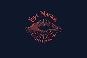 Love Magick Logo Template