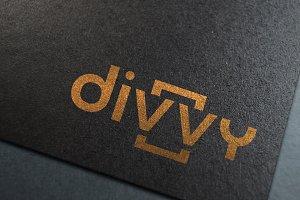 Divvy Logo Design v2