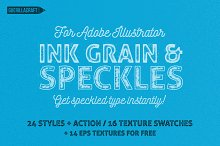 Ink Grain&Speckles for Illustrator