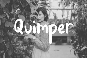 Quimper | a Friendly Sans Font