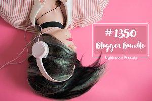 1350 Blogger Lightroom Presets