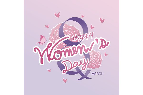 Happy 8 March Women's Day