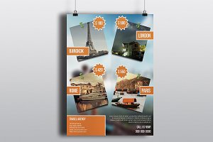 Flyer For Travel Agency V768