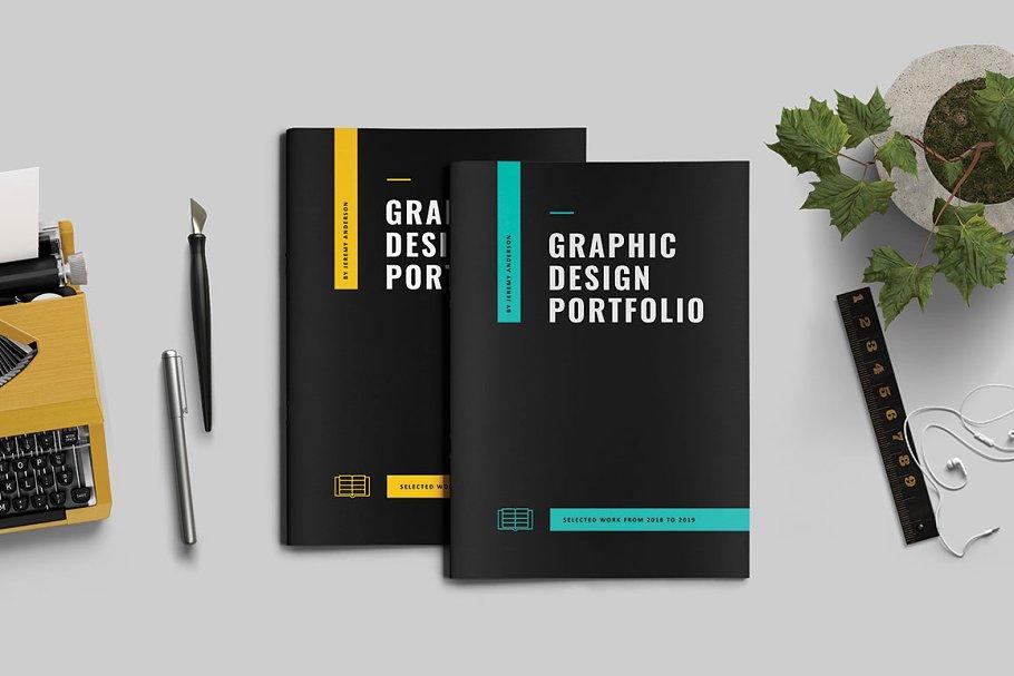 c136ab65 Graphic Design Portfolio ~ Brochure Templates ~ Creative Market